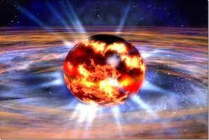 Пульсар в 21,000 световых лет от Земли