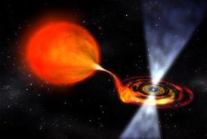 Космический объект пульсар