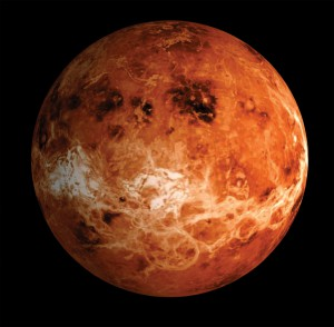 Вторая после Меркурия планета от Солнца - Венера