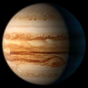 Планета-гигант Юпитер