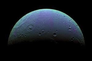 Диона спутник Сатурна