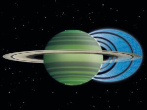 Сатурн съедает свои кольца