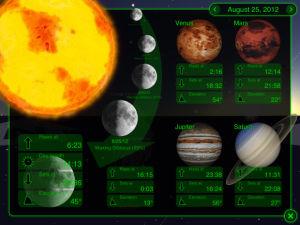 Звездный путь Star Walk астрономическое приложение для iPad