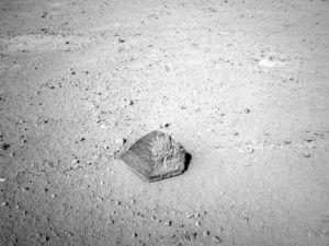 Найденный марсианский камень демонстрирует все многообразие геологии красной планеты