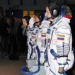 Эксперимент по управлению роботом с МКС