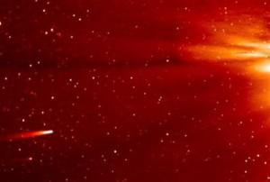 Комета Исон не пережила встречу с Солнцем