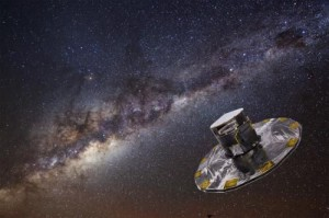 Телескоп Гайа (Gaia) запущен к назначенной точке L2