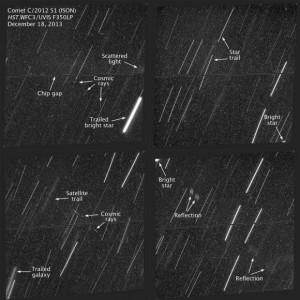 Следов кометы Исон не обнаружилось телекопом Хаббл