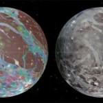 Составлена подробная карта Ганимеда спутника Юпитера