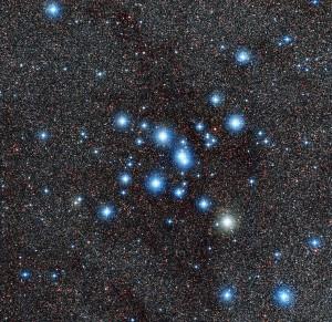 Новый снимок звездного скопления Птолемея