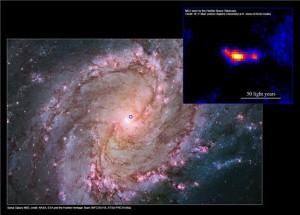 Открыта новая мощнейшая черная дыра небольшого размера