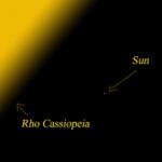 Звезда Кассиопеи Ро