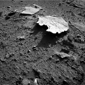 Марсоход Curiosity обнаружил Австралию на Марсе