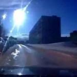 Метеорит пролетел над Мурманском