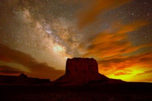 Млечный Путь - фотография из Долины Монументов