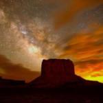 Млечный Путь – фотография из Долины Монументов