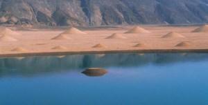 Необычные песчаные образования