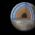 Под твердой поверхностью Ганимеда может существовать океан