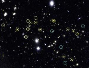 Скопление галактик JKCS 041 находится гораздо дальше, чем считалось раннее