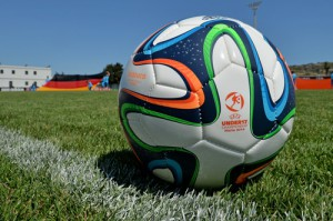 Футбольный мяч чемпионата мира отправлен в космос