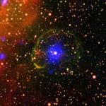 Останки сверхновой звезды в Большом Магеллановом Облаке