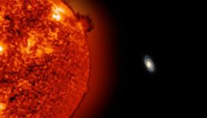 На краю нашей галактики Млечный Путь обнаружено два новых красных гиганта