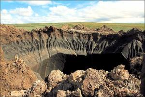 Гигантская дыра на Ямале