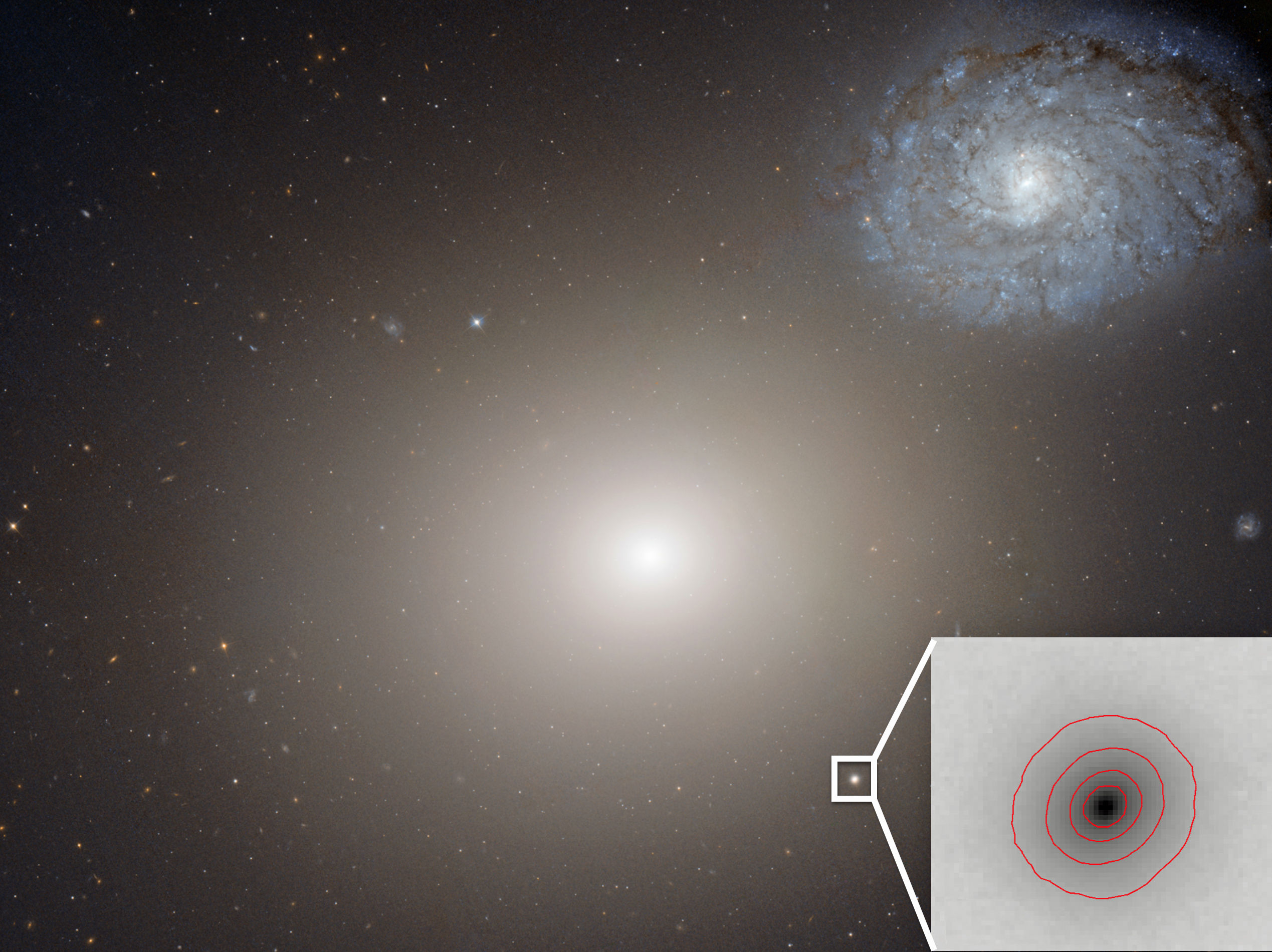 Обнаружена самая маленькая галактика со сверхмассивной черной дырой