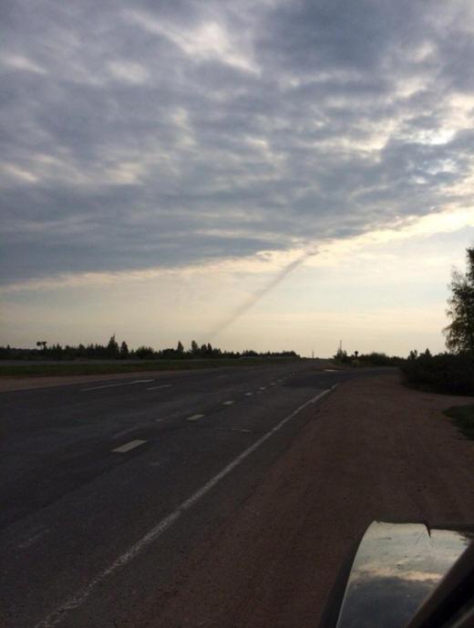Над Смоленском видели взлетающий НЛО, а до этого на землю упал какой-то объект