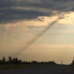 Над Смоленском видели взлетающий НЛО, а после этого на землю упал какой-то объект