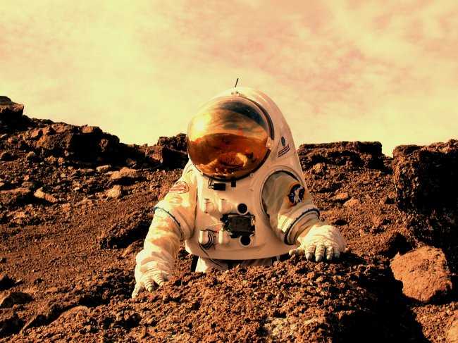 Планета Марс может сделать землян бесплодными