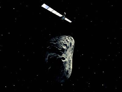 Космический аппарат Розетта высадился на поверхность кометы Чурюмова-Герасименко