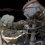 Выход российских космонавтов МКС в открытый космос