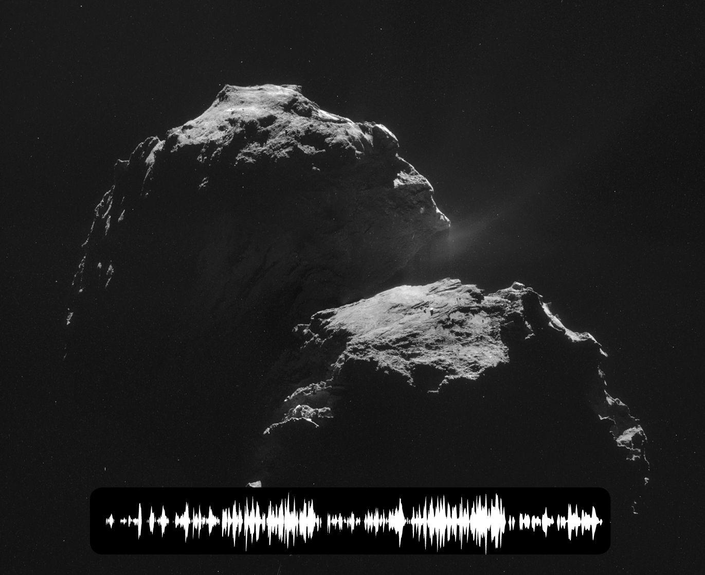 Звучание кометы 67P/Чурюмова-Герасименко