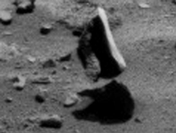 Парящий камень на Марсе