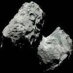 Розетта продолжает передавать снимки с кометы 67P/Чурюмова-Герасименко