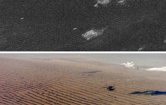 Дюны на Титане созданы ветром
