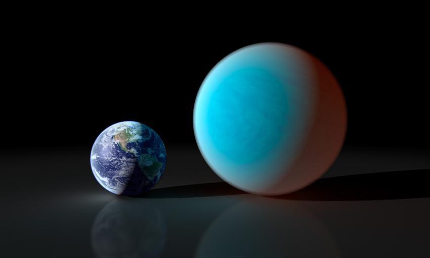 С Земли смогли увидеть прохождение суперземли перед звездой