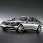 Современный автомобиль Mercedes CLS