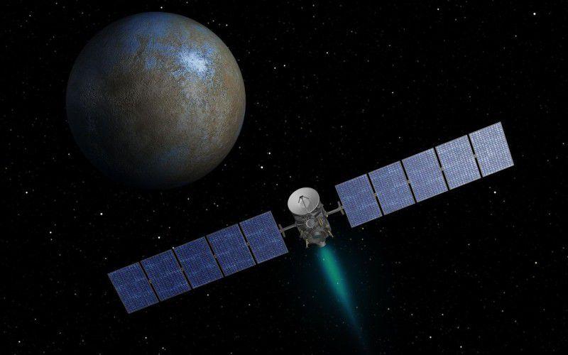 К Церере приближается космический аппарат Dawn
