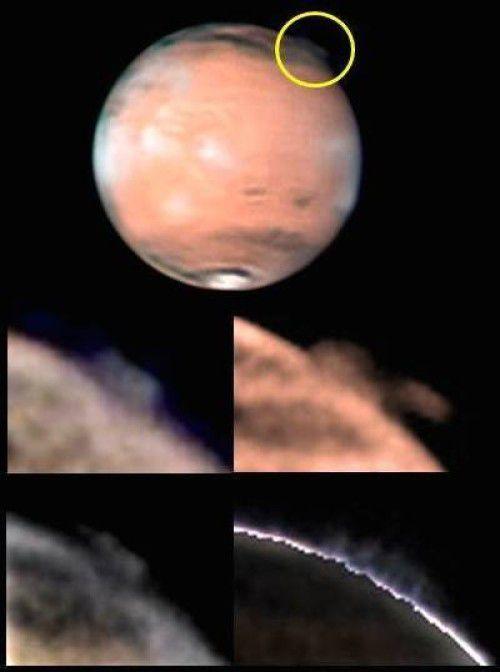Загадочные струи на Марсе ставят ученых в затруднительное положение