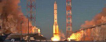 Спутник связи Inmarsat-5 F-2 успешно выведен на орбиту при помощи ракеты-носителя Протон-М