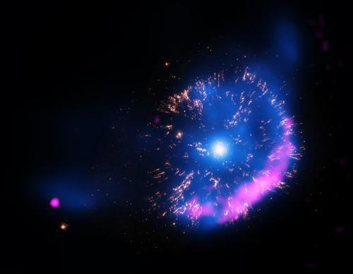 Космическому агентству НАСА удалось создать изображение первой сверхновой звезды