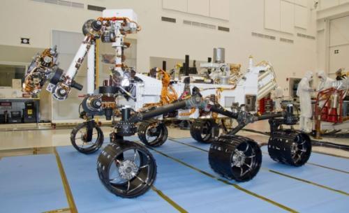 Марсоход Curiosity снова работает после короткого замыкания