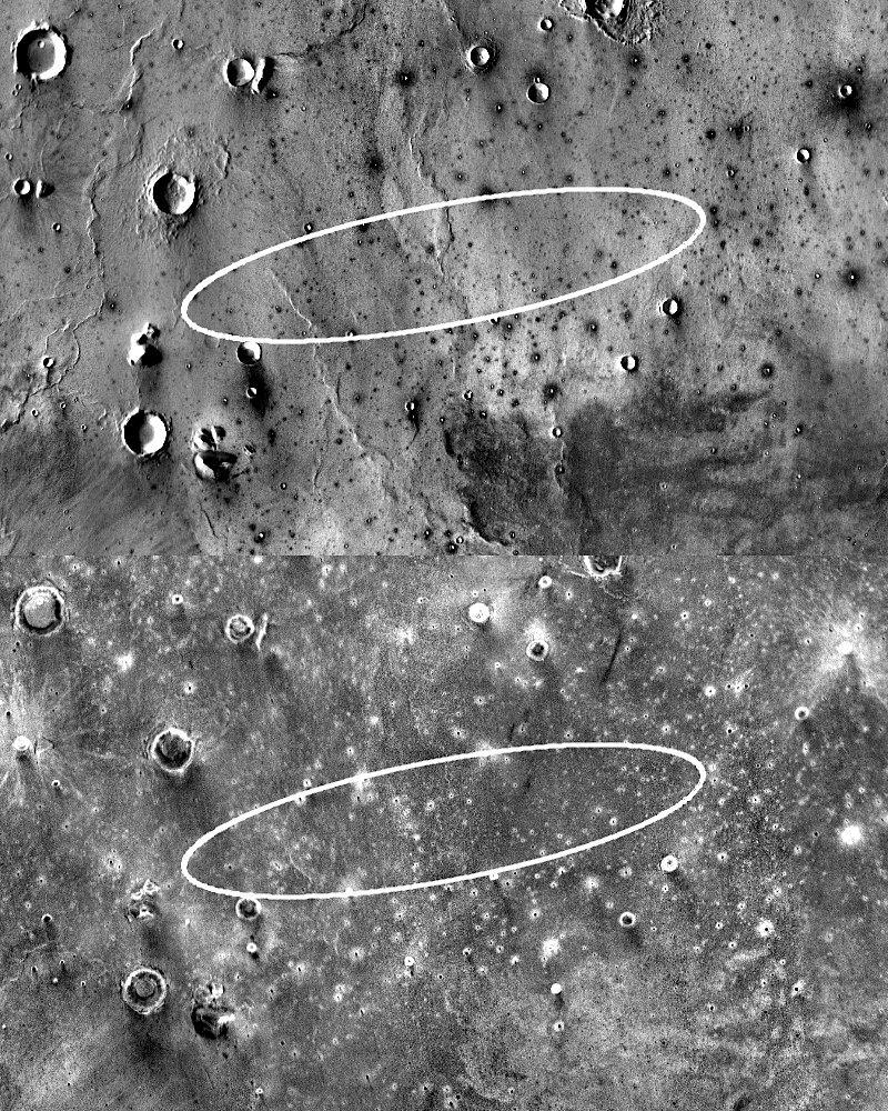 НАСА ищет подходящее место для посадки нового марсианского аппарата