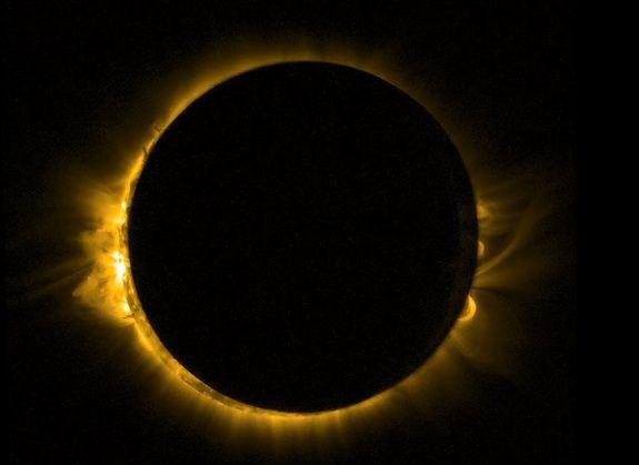 Полное солнечное затмение 20 марта 2015 года