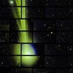 Ученые получили снимок кометы Lovejoy при помощи камеры DECam