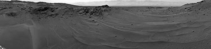 Марсоход Curiosity преодолел расстояние в 10 километров и продолжает свое путешествие