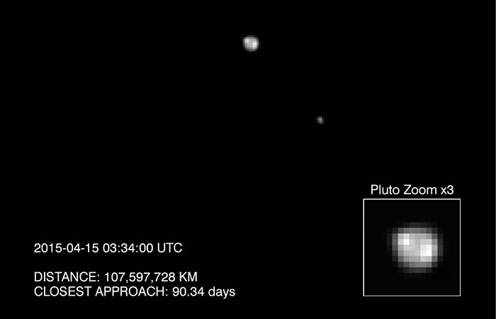 Зонд агентства НАСА сделал новые снимки Плутона