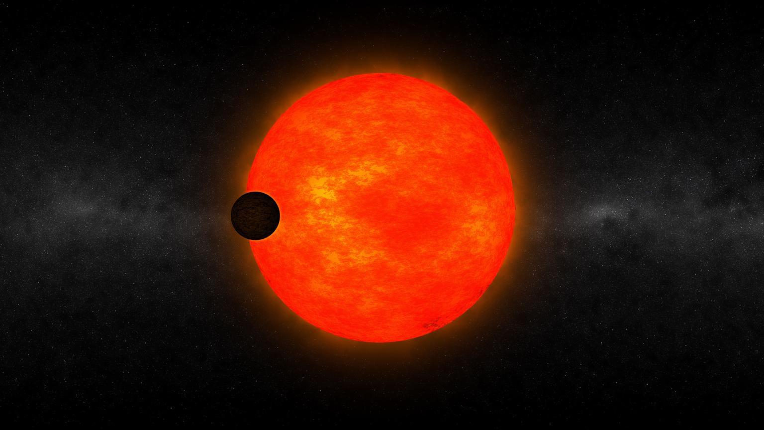 Обнаруженная экзопланета является слишком крупной для своей звезды